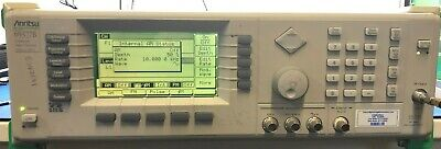Anritsu 69377b 10 Mhz - 50 Ghz Synthesized Signal Generator With Option 6
