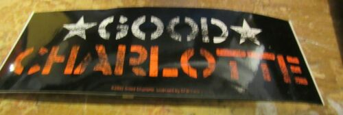 GOOD CHARLOTTE STICKER NEW 2000 VINTAGE OOP RARE COLLECTIBLE