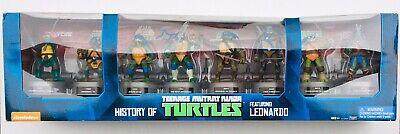 History Of Ninjas (Teenage Mutant Ninja Turtles History of LEONARDO Set TMNT TOYS R US)