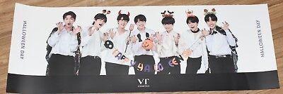 BANGTAN BOYS NATURE COLLECTION VT X BTS OFFICIAL GOODS HALLOWEEN DAY POSTER NEW - Halloween Goods