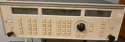 Wavetek 2520a 2-2200 Mhz Synthesized Signal Generator