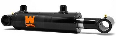 Wen Wt2004 Cross Tube Hydraulic Cylinder With 2-inch Bore And 4-inch Stroke