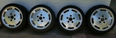 Porsche 928 S4 Alloy Wheels with Tyre Pressure Monitors (Staggered)