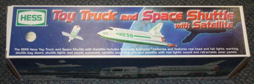 1999 HESS TRUCK w SPACE SHUTTLE GEM MINT NEW IN BOX CHEAP L@@K