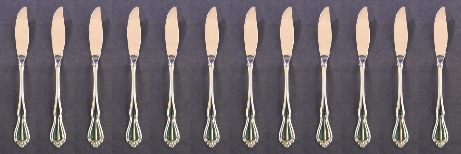 Oneida Silverplate Flatware Croydon Fish Knives Canada