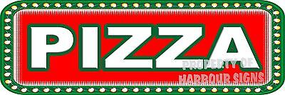 Pizza 18 Decal Italian Concession Lettering Catering Food Truck Vinyl Sticker