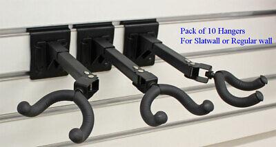10pcs Adjustable Swivel Guitar Hanger Stands Wall Mount Hook Holder Rack