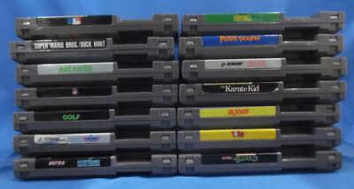 NES Nintendo Video Game Lot 14 Super Mario Bros Duck Hunt Yoshi TMNT
