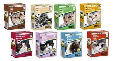 70 x 370g Bozita Katzenfutter in Gelee oder Sauce - freie Auswahl