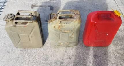 20 Liter Fuel Jerry Can Steel & Plastic Petrol Diesel