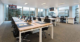 Liverpool Street Station 30 person open plan furnished office for rent with dedicated meeting room