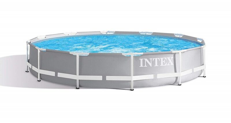 ***USEDDISTRESSED BOX Intex 12ft X 30in Prism Frame Pool Set with Filter Pump