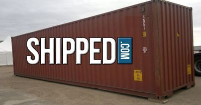 Used 40ft High Cube Shipping Container Home Storage We Deliver In Mobile Alabama