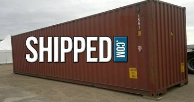 Best Offer Used 40ft High Cube Shipping Container For Home Storage In Tennessee
