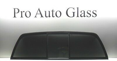 Rear Back Window Manual Sliding Glass 2002-2010 Dodge Ram NEW privacy tinted