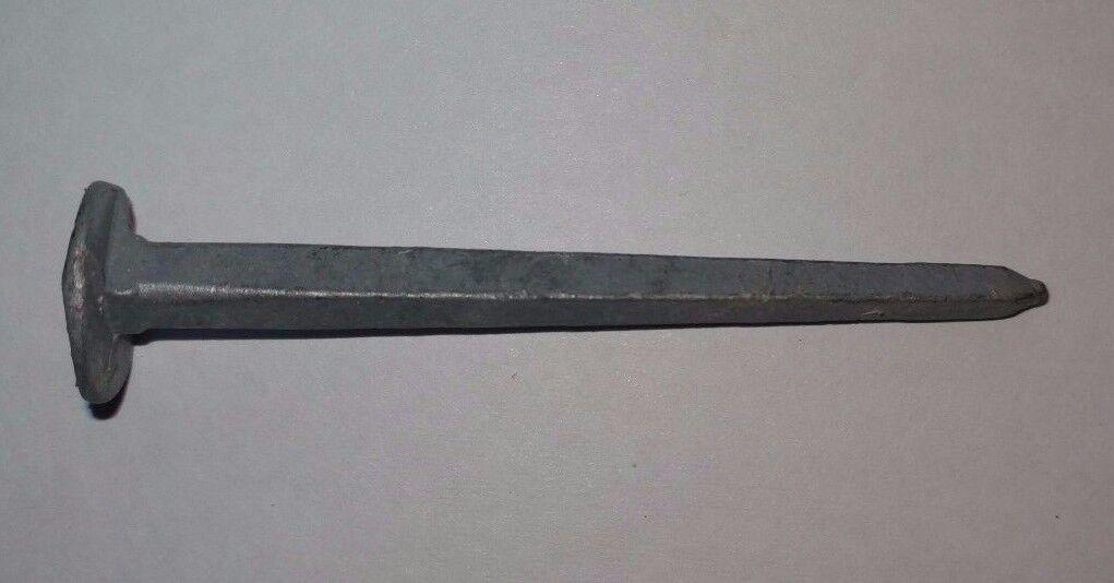 Schmiedenägel, Gehängenägel, Rinneisennägel 50 oder 60 mm lang verzinkt Form 5