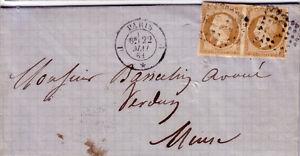 PARIS-J-1e-DU-22-MAI-1861-N-13B-EN-PAIRE-LETTRE-AVEC-TEXTE