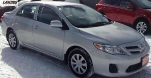 2013 Toyota Corolla CE LOW LOW KILOMETERS Clean Car Proof, One O