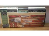 Professional Barbecue Set. Brand new