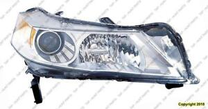 Head Lamp Passenger Side With HID High Quality Acura TL 2009-2011