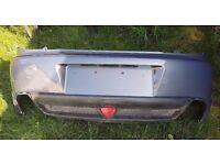 Mazda RX8 rear bumper