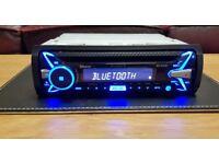 CAR HEAD UNIT SONY XPLOD N4100BT MP3 CD PLAYER WITH BLUETOOTH USB AUX AMPLIFIER AMP STEREO RADIO BT