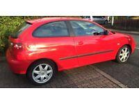 Seat Ibiza sport 16v 1.4 petrol 12 months mot