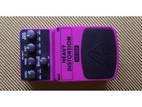 HD300 behringer heavy distortion guitar pedal
