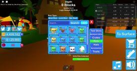 Roblox/ mining stuff
