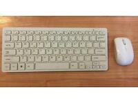 Compact Wireless Mouse and Keyboard Set USB Laptop PC