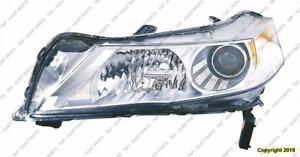 Head Lamp Driver Side With HID High Quality Acura TL 2009-2011