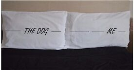 Me The Dog Side Personalised Pillowcases Pillow Case Funny Pet