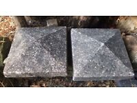 Two old Capping Stones £50-00