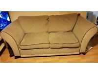 Sofa Bed and Chair Free