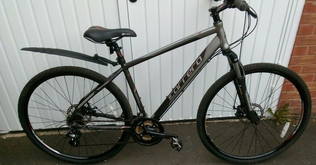 6695420f40e Carrera Crossfire 2 Mens Hybrid Bike