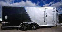 2016 Stealth Trailers Predator - drive on/off with UPGRADES