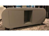 Sideboard, bespoke, light grey