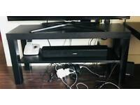 IKEA TV bench black - 90 * 26 cm (Just the TV stand for sale)