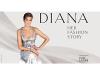 PRINCESS DIANA FASHION STORY TICKETS 16th april 2017
