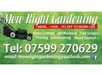 Garden maintenance and landscaping. Covering Derbyshire and Nottinghamshire