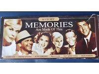 RARE 6 CD SET- MEMORIES ARE MADE OF THIS