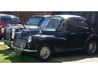 SPLIT SCREEN MORRIS MINOR TAX & MOT EXEMPT 4 DOOR CLASSIC CAR