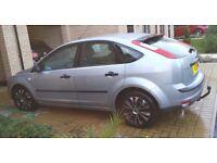 Silver ford focus 1.6 petrol