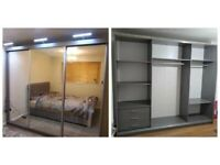 ⏳ Limited Time Offer - Brand New Chicago Sliding Door Mirrored Wardrobe With Warranty ⏳