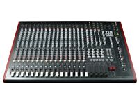 Allen and Heath zed R16 - 16 Track Desk and Audio Interface