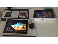 Boxed Microsoft Linx 10 32 GB Tablet + Windows 10 + Charger + Good Condition