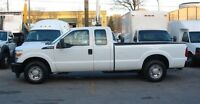2011 Ford F-250 ext cab gas  2wd long box x 4