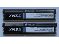 Corsair 8GB (2x4GB) DDR3 1600MHz CL9 Memory Kit (CMX8GX3M2A1600C9)