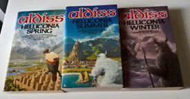 Brian Aldiss Helliconia Trilogy