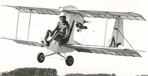 11-x-17-sheets-Whing-Ding-II-Ultralight-Biplane-Plans-aircraft-airplane